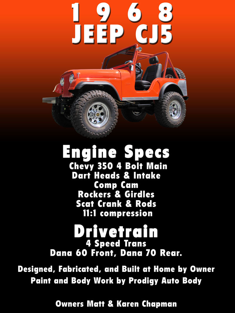 Car Show Boards Custom Designed Show Boards For Your Car