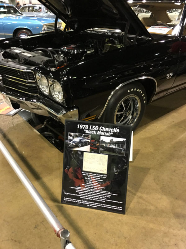 1970 Chevelle Car Show Display Sign