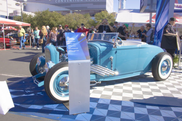 Ford Roadster Car Show Display Stand