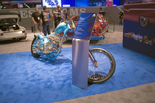 Custom Motorcycle Car Show Display Stand