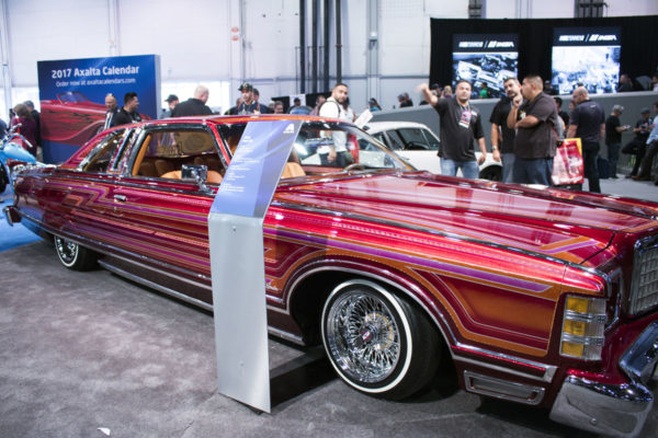 75 Ford LTD Lowrider Car Show Display Stand