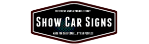Car Show Boards – Car Show Signs