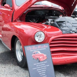 Chevy Car Show Board